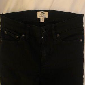 Black Skinny J. Crew Jeans